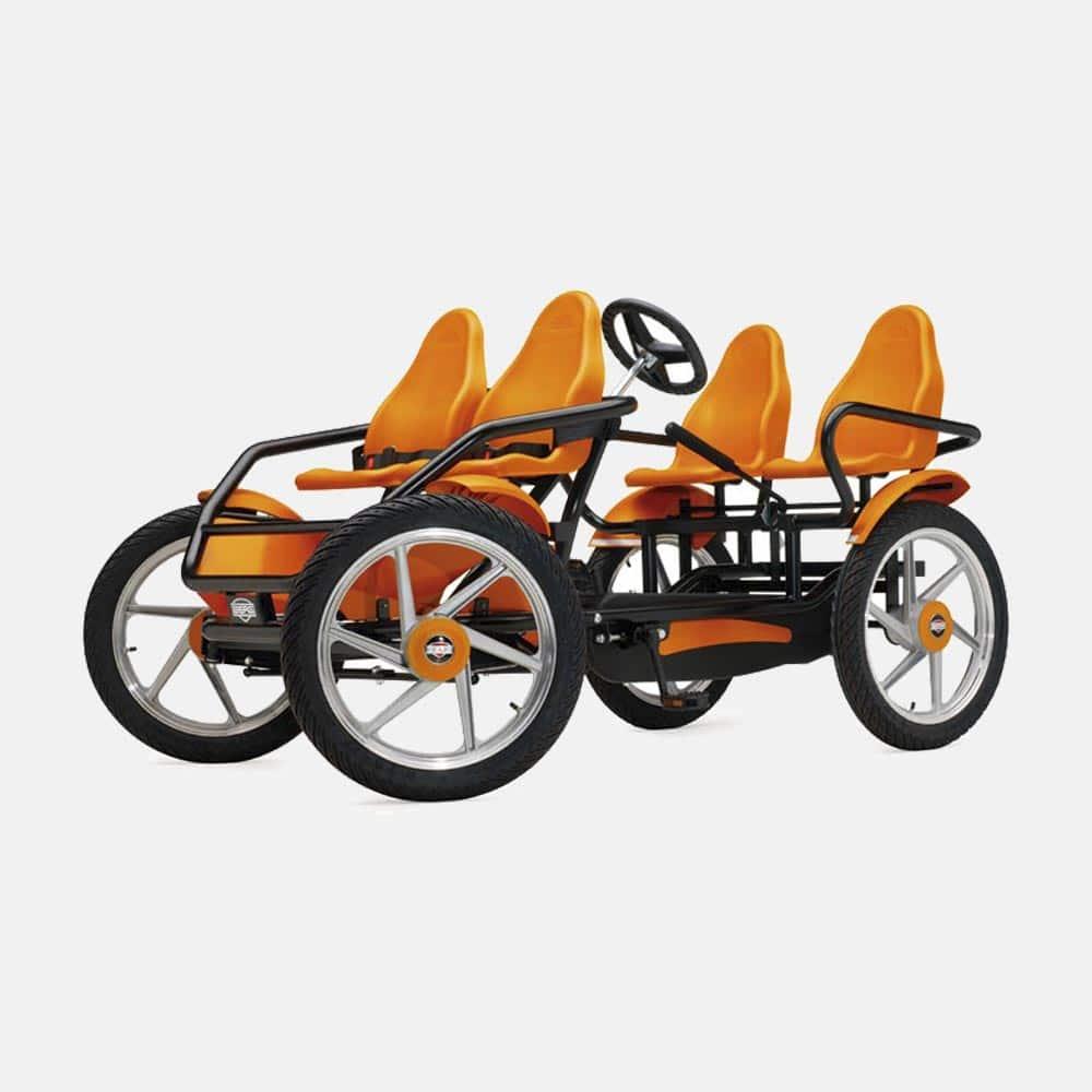 Веломобиль с четырьмя колесами
